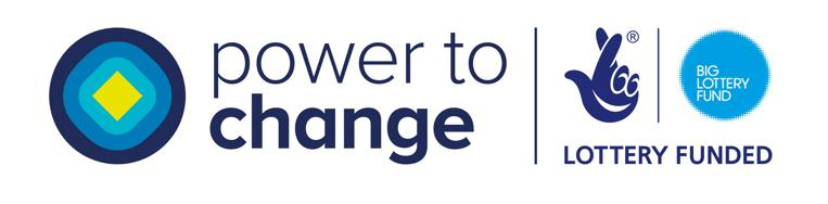 Power to Change and Big Lottery logos